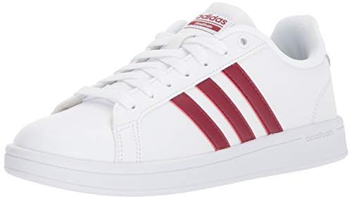 89028e5e3ef6b Amazon.com | adidas Women's CF Advantage Sneaker, White, Collegiate ...
