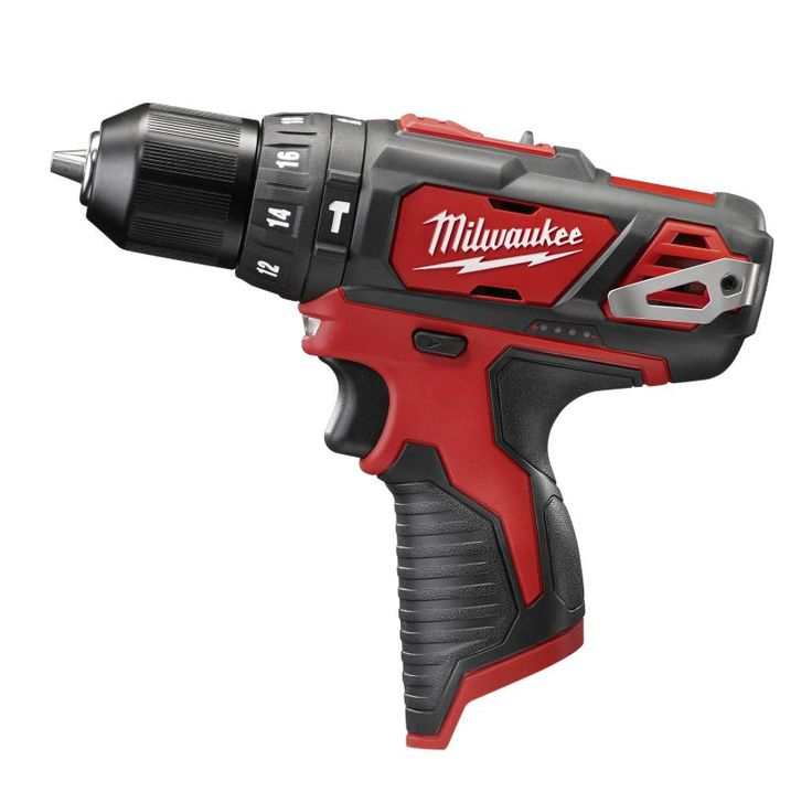 """Milwaukee 2408-20 M12™ 3/8"""" Hammer Drill / Driver (Tool Only) Power Tools Drills / Drivers Hammer Drills"""
