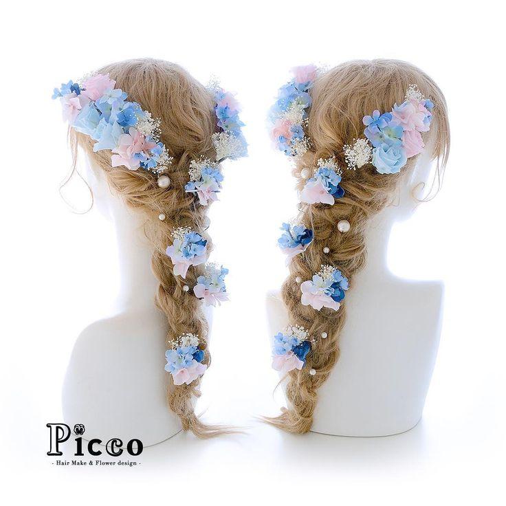 Gallery 575 . 【 結婚式 #髪飾り 】 . #Picco #オーダーメイド髪飾り #カラードレス #結婚式 . ほんのりと色づいたピンク&ブルーのプリザローズをメインに、小花とかすみ草で盛り付けたラプンツェル風仕上げです ✨. #ローズ #パステル #ラプンツェル #ドレス #ウェディングヘア . デザイナー @mkmk1109 . . . #ヘッドパーツ #ヘッドアクセ #ヘッドドレス #花飾り #造花 #カラードレス #披露宴 #パーティー #プレ花嫁 #花嫁 #ウェディングフォト #結婚式前撮り #結婚式準備 #プリンセス #プレ花嫁 #ウェディング #ウェディングアイテム #ブライダルフォト #ウェディング小物 #rapunzel #disney