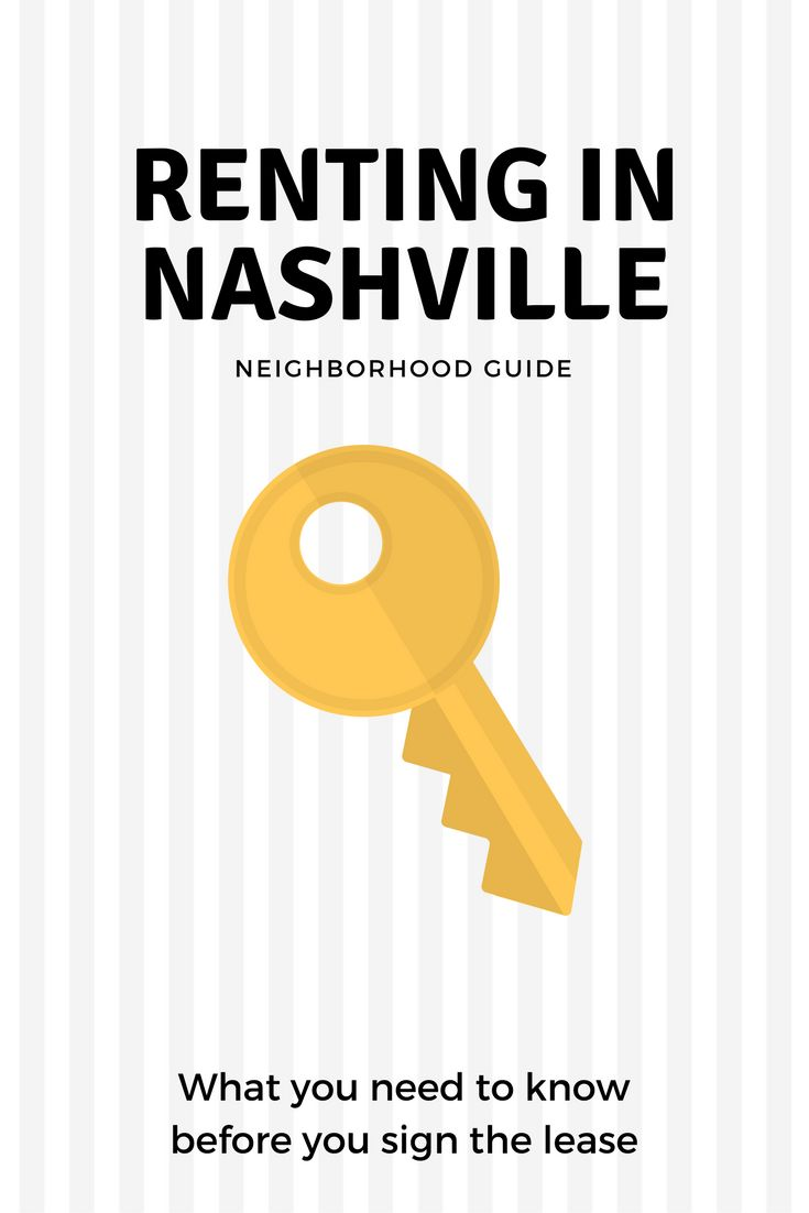 Where's the best place to rent in Nashville? Find out with the Nashville Neighborhood Guide - Living in Nashville -  renting in Nashville - Nashville houses - Nashville Homes - Nashville Guide - Nashville Real Estate
