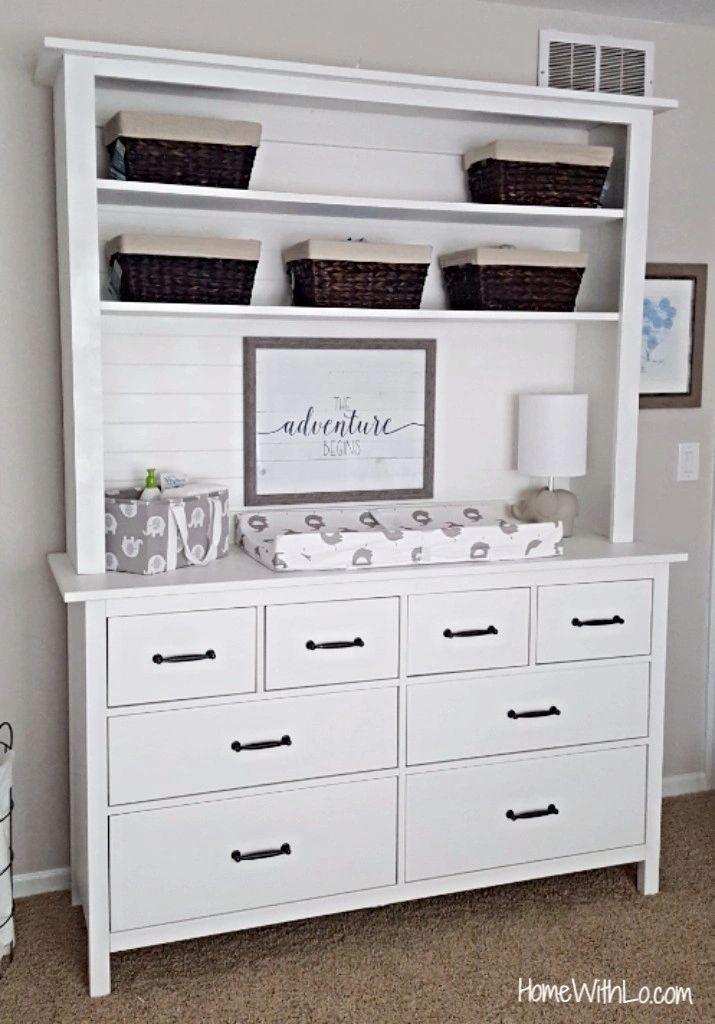Customizing Ikea S Hemnes Dresser More Details At Homewithlo Com