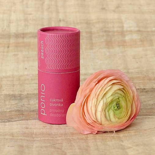Ponio / Cukrová pivonka - prírodný deodorant