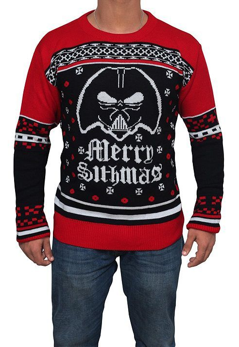 Pull De Noel Geek.Star Wars Darth Vader Merry Sithmas Ugly Sweater Geek