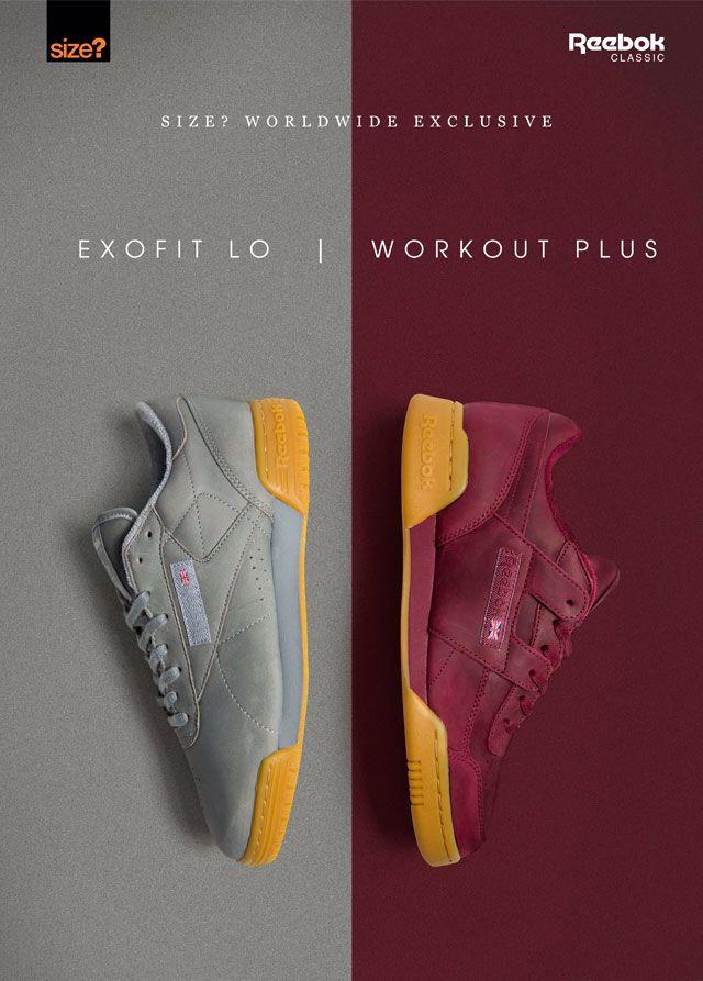 Size? Exclusive: Reebok Exofit Lo / Workout Plus