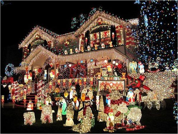 Most Spectacular U0026 Over The Top Christmas Light Displays [PHOTOS]