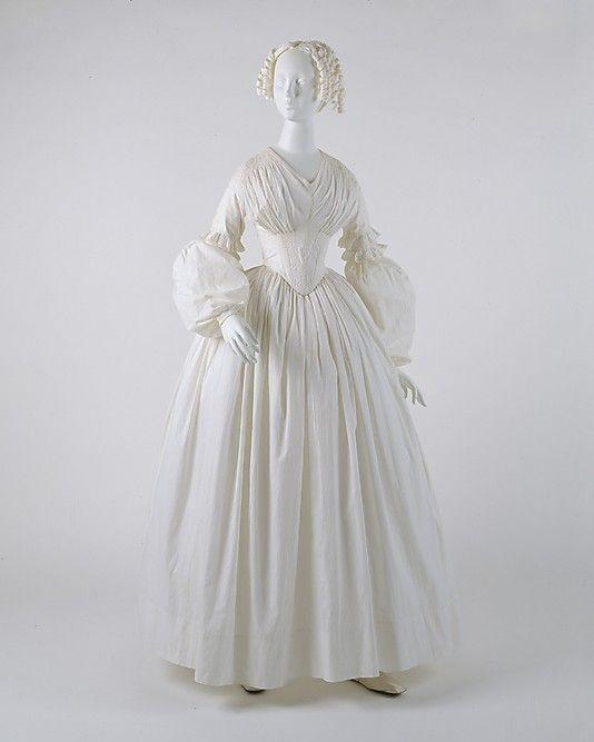 Dress  Date: ca. 1839-41 Culture: American