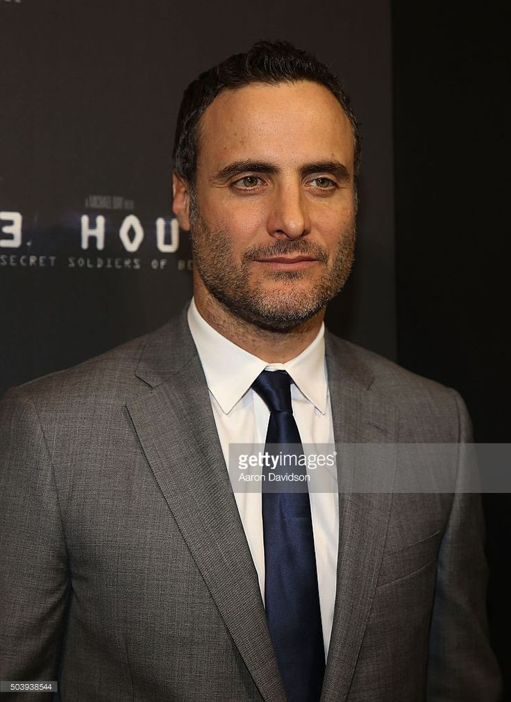 Dominic Fumusa attends Miami Special Screening of '13 Hours: The Secret Sol... Show more