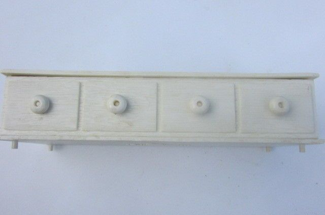 Vintage Barbie Suzy Goose White Hope Chest Drawer Has Rare Knobs 1960's Bedroom #Mattel