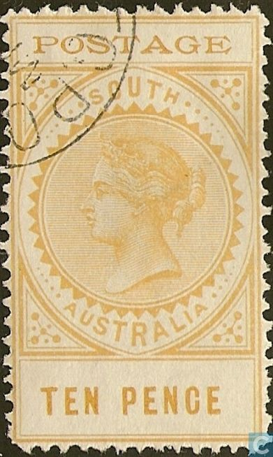 1902 South Australia - Queen Victoria