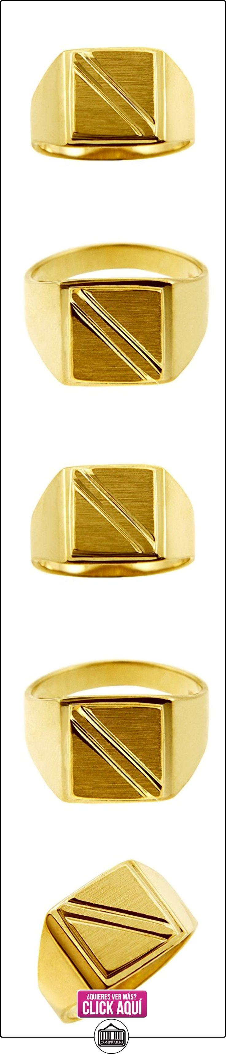Pequeños Tesoros - Anillos Hombres Alianza De Boda 10 Kt Oro 471/1000 Sortija De sello  ✿ Joyas para hombres especiales - lujo ✿ ▬► Ver oferta: https://comprar.io/goto/B012788NQ0