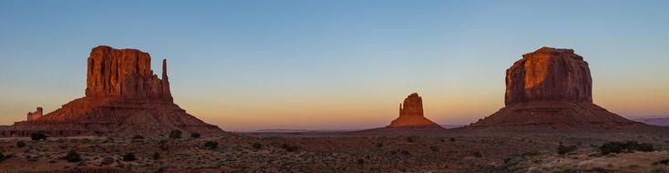 Monument Valley sunset Monument Valley Arizona [5792x1499][OC]