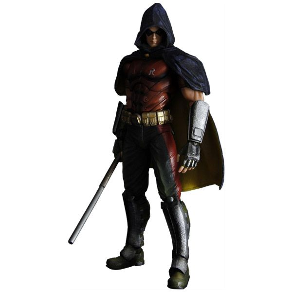 Arkham City Robin Play Arts Kai Action Figure | Robins ...