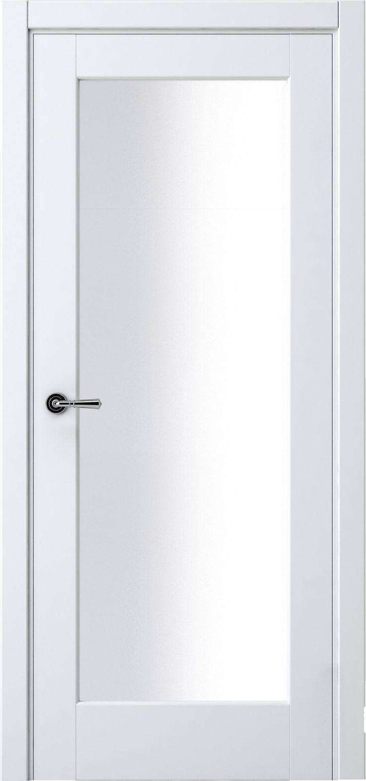 Межкомнатная дверь Волховец Galant 7138 Белый Шелк, Сатин в классическом стиле.