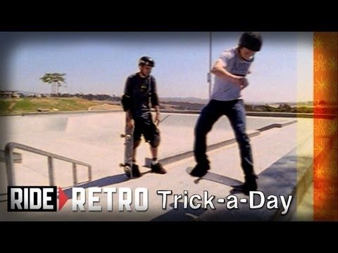 Learn a new trick each and every day from top pros. You'll get step-by-step instructions on how to master every trick in skateboarding! Tune in seven days a week to learn something new.    Jump into the vault with Tony Hawk and Brian Sumner : Frontside Tailslides