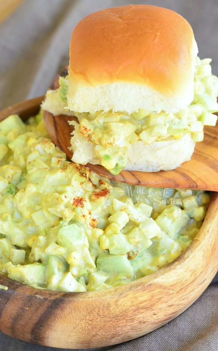 This Avocado Cucumber Egg Salad is delicious and super easy to make! The add that perfect little crunch, while the avocados keep it creamy and fresh.