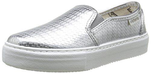 Victoria Slip On Tej Trenza Metalizado, Damen Sneaker - http://on-line-kaufen.de/victoria/victoria-slip-on-tej-trenza-metalizado-damen