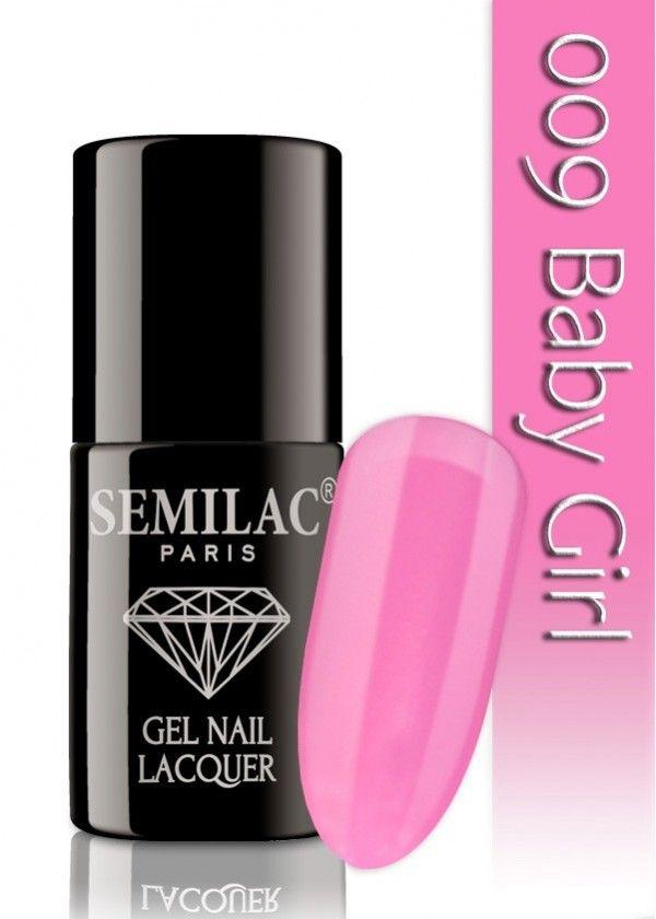 Semilac 009 Baby Girl UV&LED Nagellack. Auch ohne Nagelstudio bis zu 3 WOCHEN perfekte Nägel!