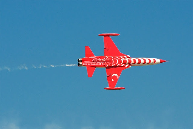 TURKISH STARS (Turkish: Türk Yıldızları) - Air Force Canadair NF-5A Freedom Fighter