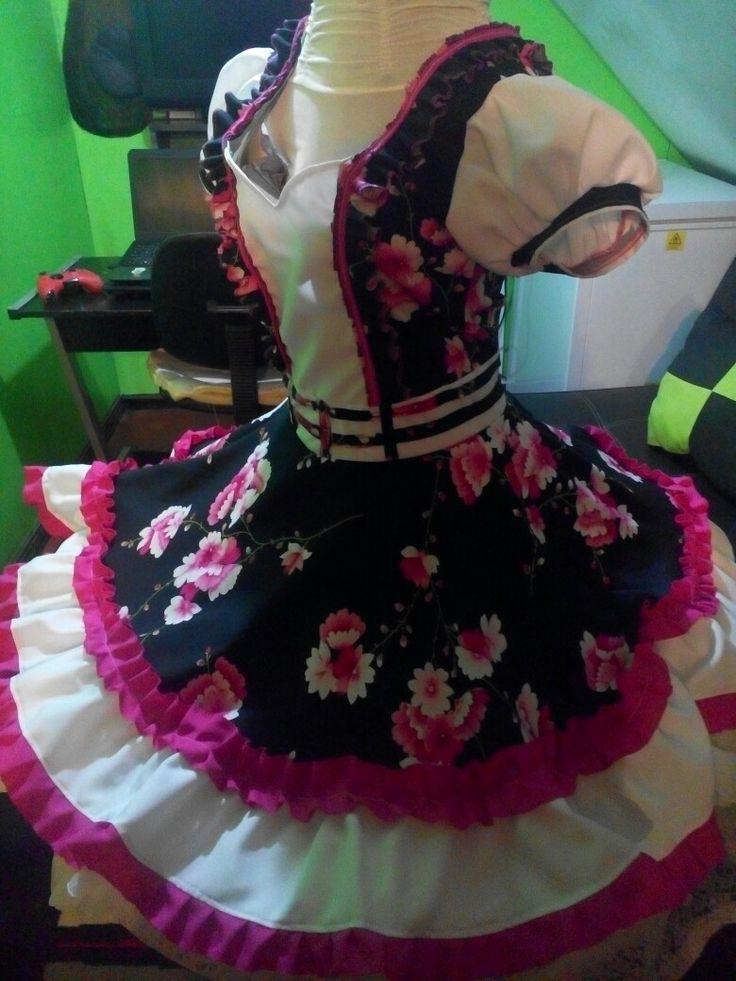Vestido de huasa talla m