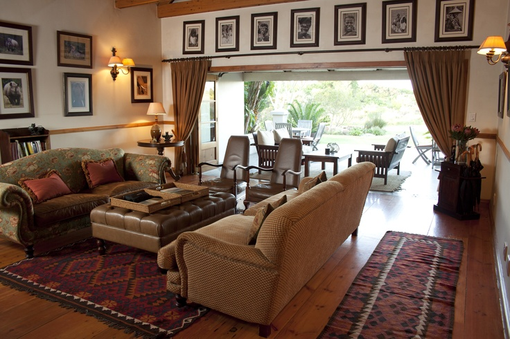 Main lounge at Dune Ridge Country House, St Francis Bay