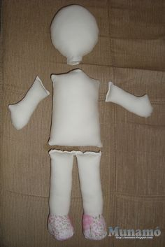Munamó: Passo a passo de uma boneca de pano …