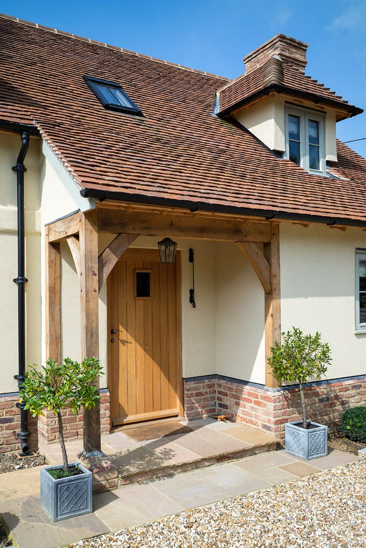 Surrey Pearmain - Border Oak Love this entrance porch