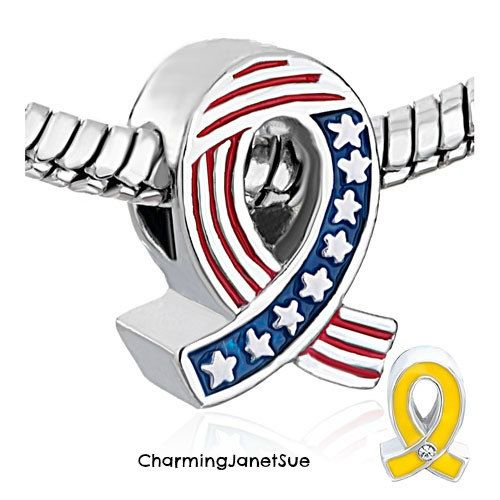 Pandora Military Charms