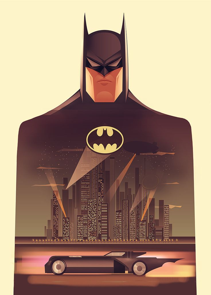 Batman: The Animated Series Created by Cristhian Hova