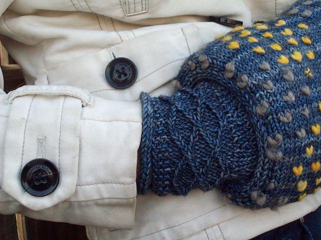 Muff Knitting Pattern : Muffalette Thrummed Muff pattern by Sarah Wilson