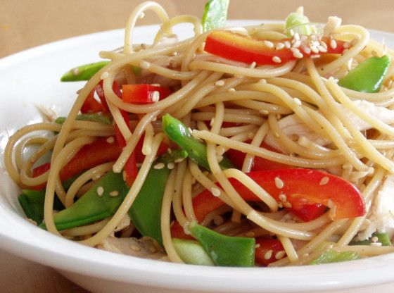 Chinese Chicken Noodle Salad Recipe - Food.com