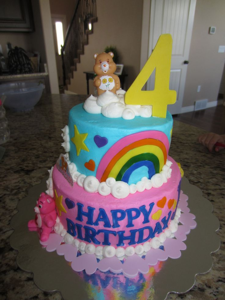 care bear cake 1000 images about carebears on yellow 2455