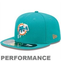 NEW Era Miami Dolphins On-Field Performance 59FIFTY Fitted Hat