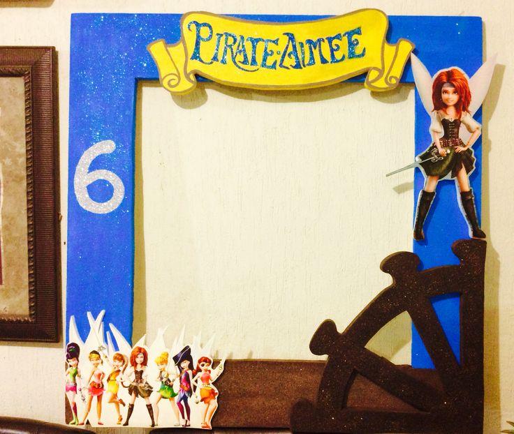 Marco para fotos marco para foto del hada pirata zarina - Diy marcos para fotos ...