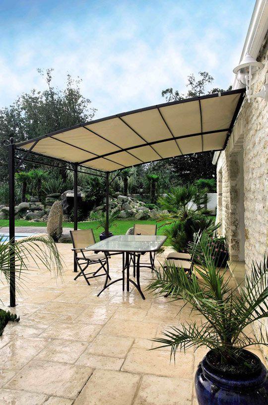 Toiture terrasse, pergola : les 20 meilleurs modèles   Pergola, Toiture terrasse et Terrasse maison