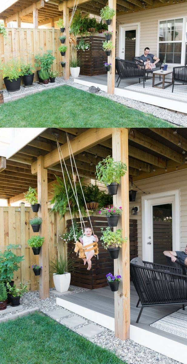 Tiny Backyard Ideas & An Update on My Tiny Backyard & Garden ... on backyard with pergola ideas, backyard with pool ideas, yard deck ideas, backyard with swing sets, backyard with fire pit, backyard with gazebo ideas, backyard with trees ideas, backyard with garden ideas, backyard designs, backyard with playground ideas, backyard with fireplace ideas,