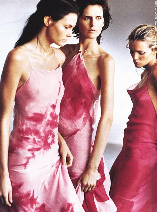 Donna Karan Spring 2000 campaign. Photography: Peter Lindbergh