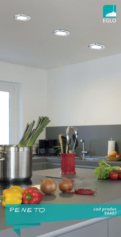 Spațiul de lucru din bucătărie necesită iluminare specifică, ajutându-vă astfel să vă bucurați de culorile naturii și prospețimea ei.
