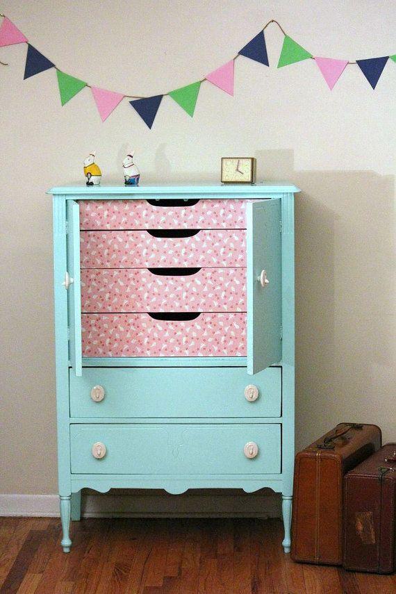 Mint Dresser by LaVantteHome on Etsy, $559.00