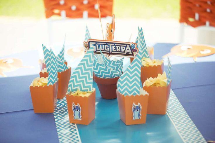 Slug Terra Birthday Party Ideas | Photo 3 of 20
