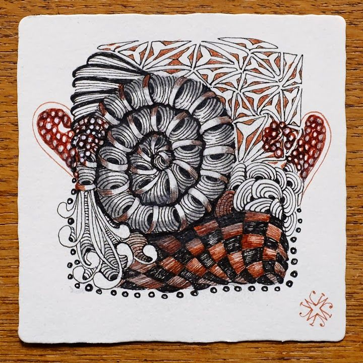 Best zentangle renaissance tiles images on pinterest