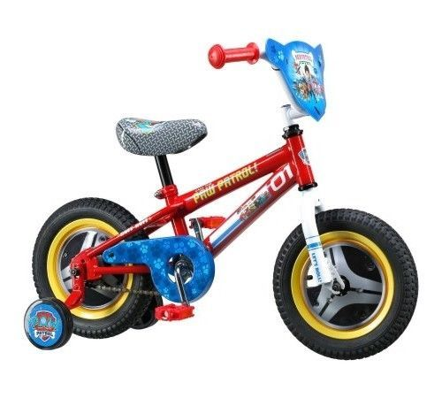 Paw Patrol Kids Small Bike 12 Inch Girls Boys Toddler Bicycle w Training Wheels #Nickelodeon