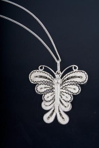 Sierra Monarca Butterfly Necklace