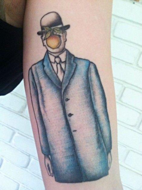 Απίστευτα τατουάζ εμπνευσμένα από πραγματικά έργα τέχνης - GRAPHICO - LiFO