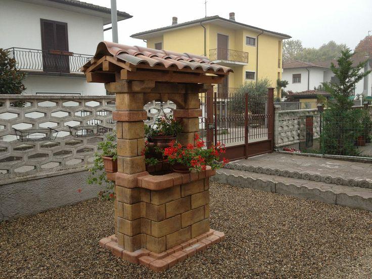 1000 images about realizzazioni pozzi da giardino for Pozzo da giardino decorativo