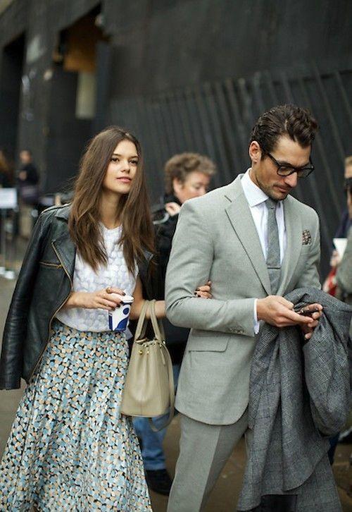stylish couple. street style