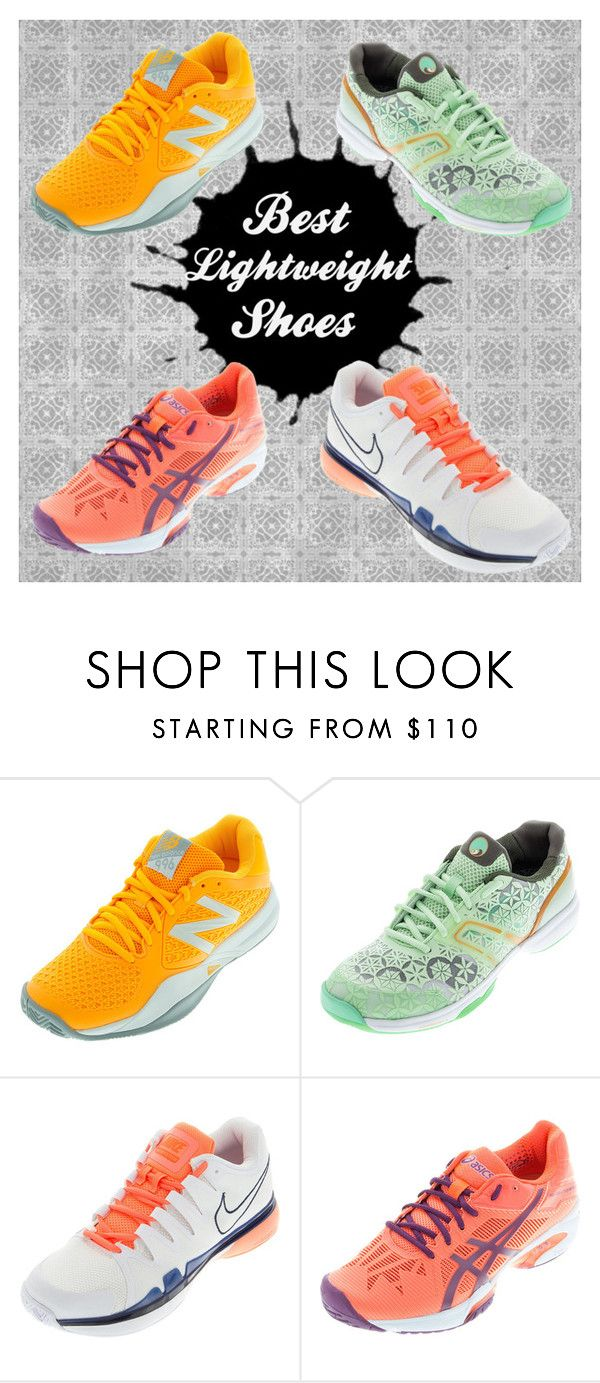 """""""Best Lightweight Shoes for Tennis"""" by tennisexpress on Polyvore featuring tennis, tennisshoes, athleticwear, athleticshoes and athleticmom"""