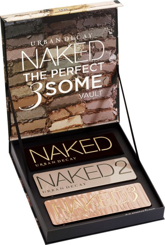 Get your Urban Decay Naked Vault - Perfect 3some at Ulta today. This limited edition kit is loaded with your favorite trio of Naked neutral palettes.