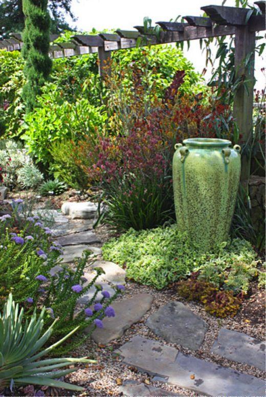 1000 ideas about mediterranean garden design on pinterest for Mediterranean garden design