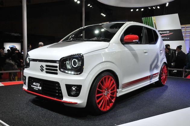 【東京オートサロン2015】スズキ、「アルト ターボ RS」など3台のカスタム軽自動車を展示 - Autoblog 日本版