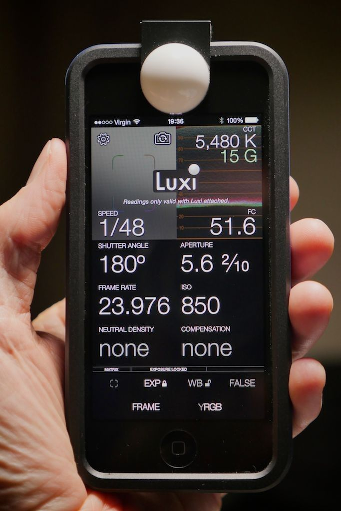 Your iPhone Is Now a Professional Light & Color Meter